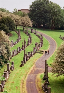 looking east from the necropolis, glasgow
