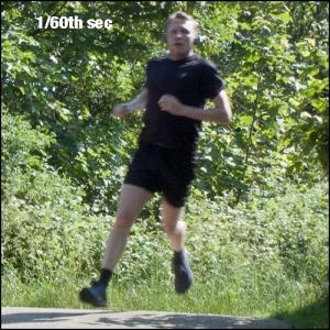 runner 1/60th sec