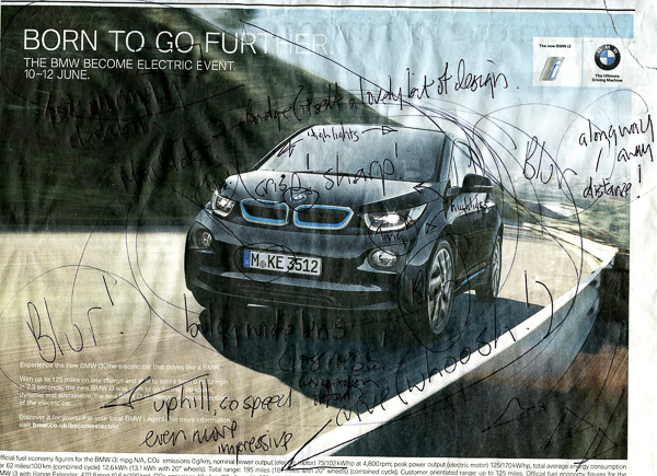 BMW Advertisement - The Guardian 31st May 2016